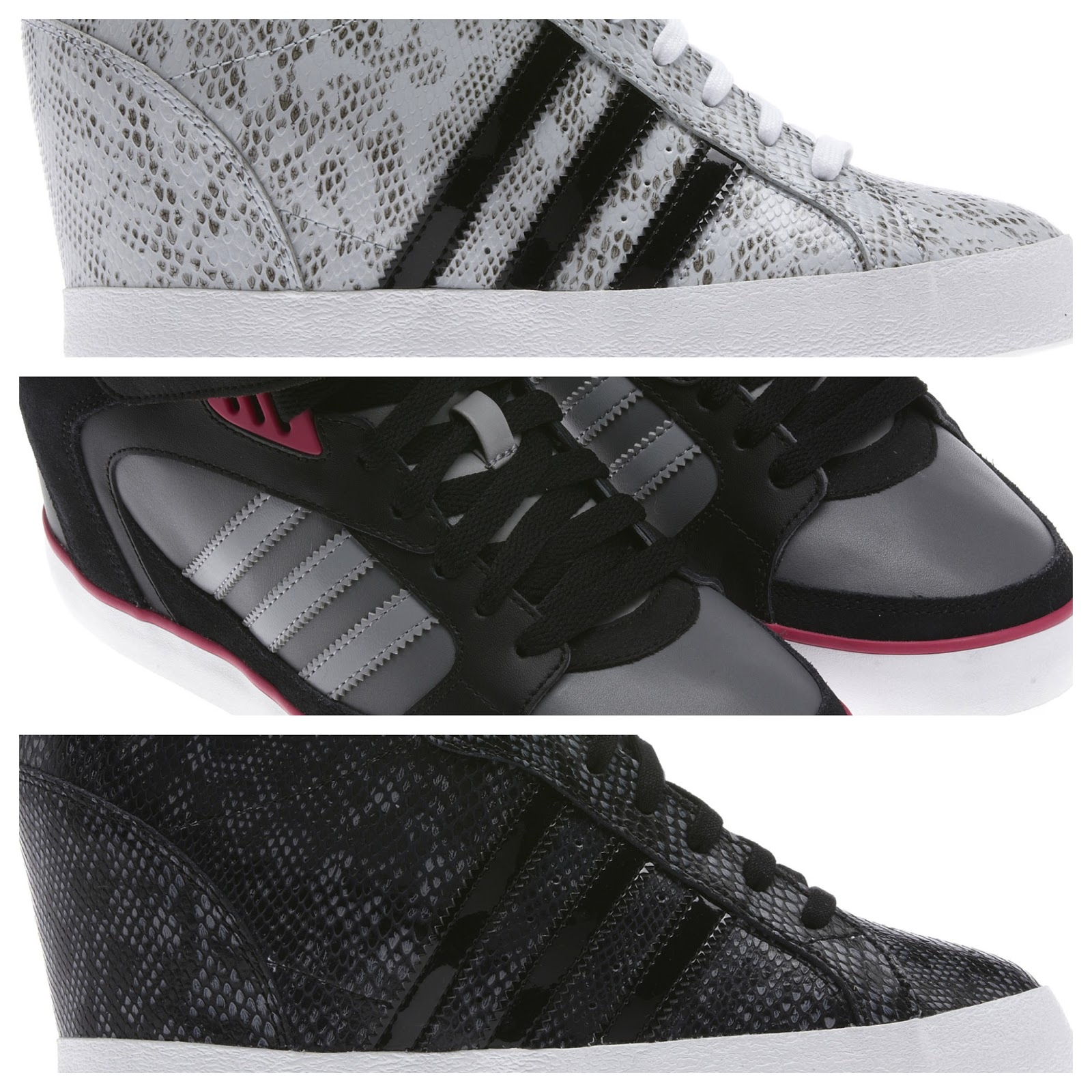 low priced 14d51 b01c6 Adidas Wedge-Heeled Sneakers