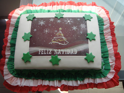 Torta decorada Navidad