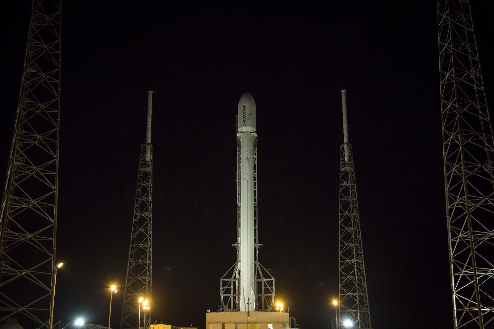 Orbcomm G2, rimandato a Luglio il lancio, by SpaceX!
