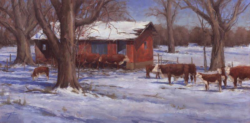 Oil Paintings By Jason Tako Merry Christmas