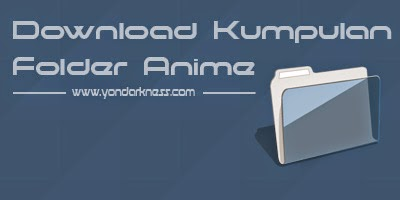 Download Kumpulan Ikon Folder Anime