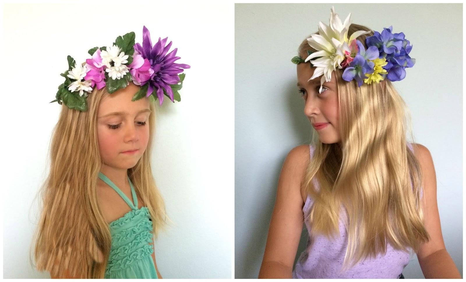Crafty Texas Girls Diy How To Make Flower Crowns
