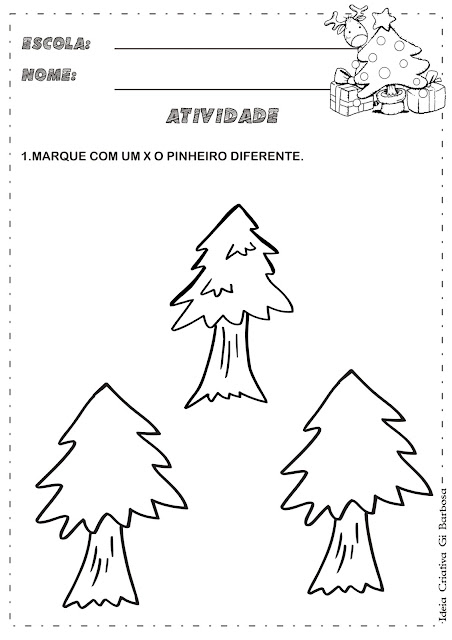 Atividade Matemática Natal