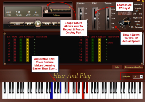New Song Robot Update Bigger Expandable Keys