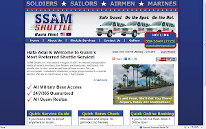 Click the image to view SSAM Shuttle's website!