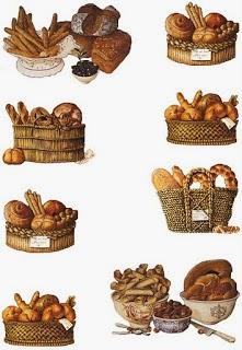 Objetos de cozinha na decoupage