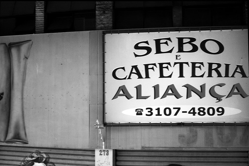 São Paulo - Sebo e Cafeteria