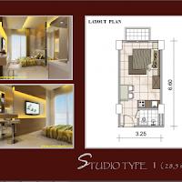 Jual Apartemen Murah Lokasi Strategis Gambar 1