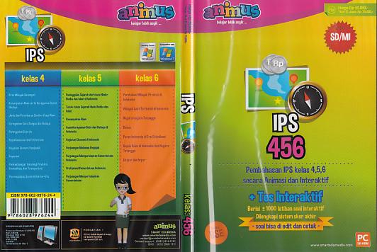 Cd Animus Ips Kelas 4 5 6 Sd Mi Toko Buku Rahma