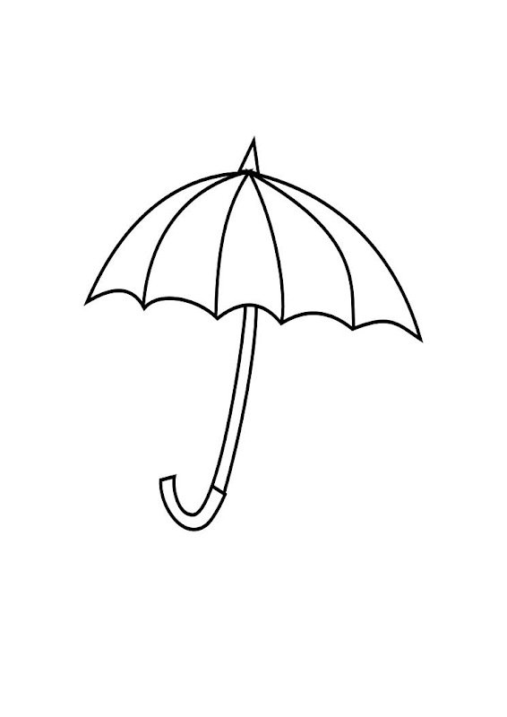 Umbrella Coloring title=