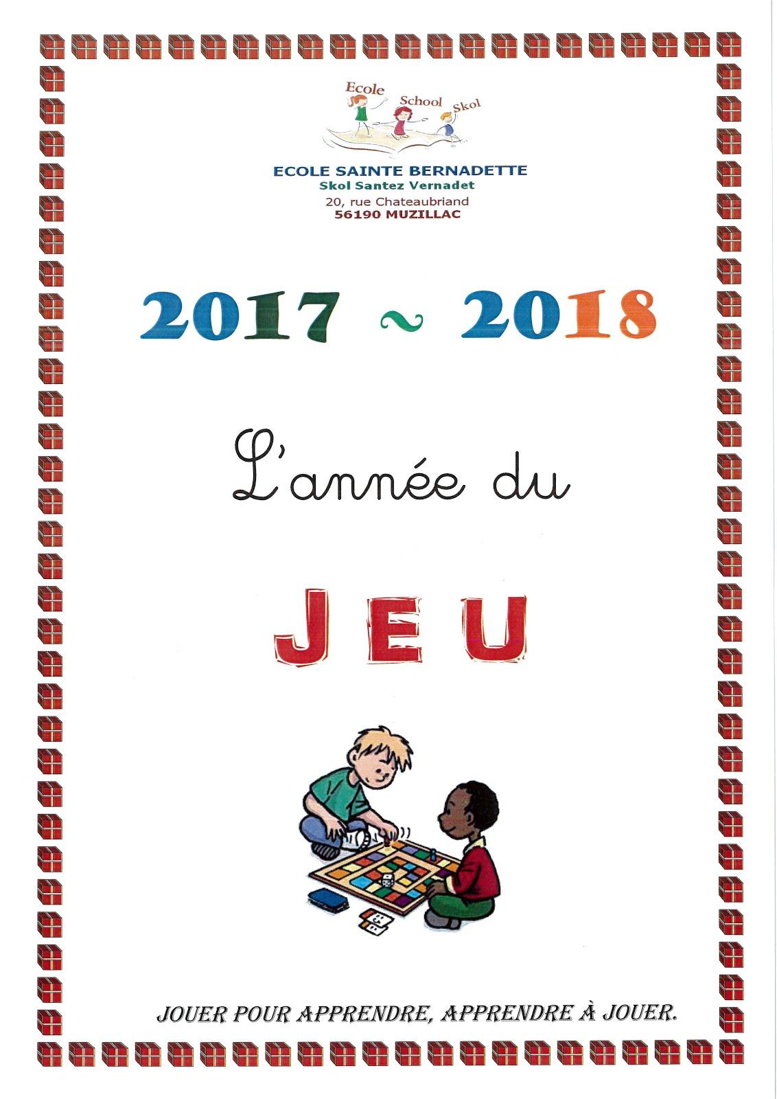 Thème 2017-2018