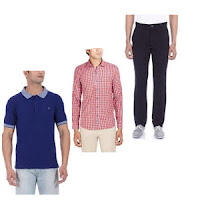 Buy Ruggers Men's Clothing 60% or 70% off from Rs. 179 at Amazon