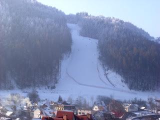 trasa narciarska w Szczawnicy