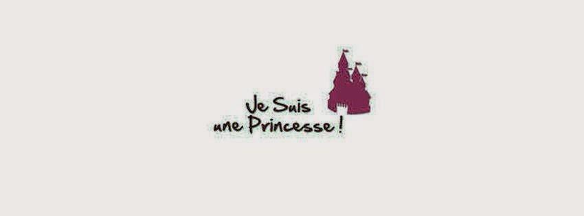 Magnifique couverture pour journal facebook je suis une princesse