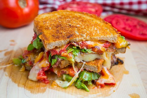 BLT Grilled Cheese (BLTGC) on Closet Cooking
