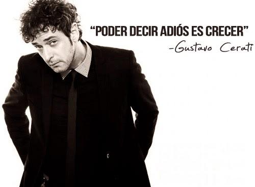 Frase de Gustavo Cerati