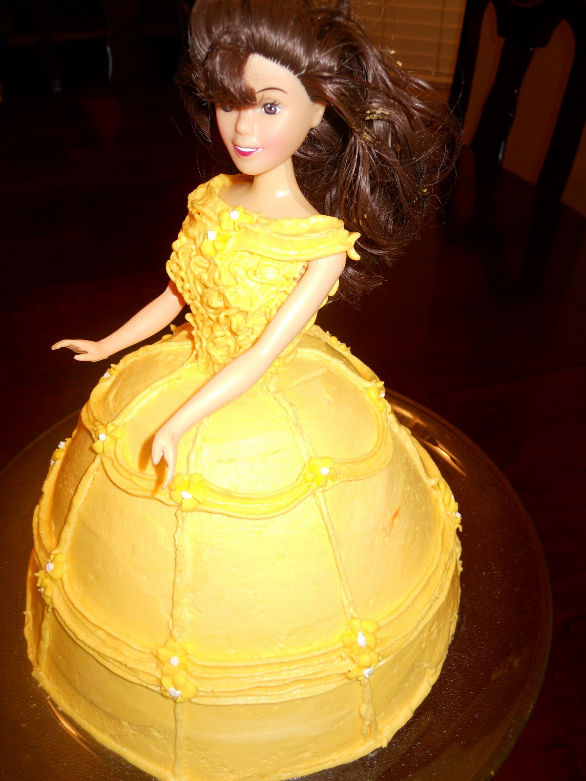 Cutie Cakes By Mindee Princess Belle Cake