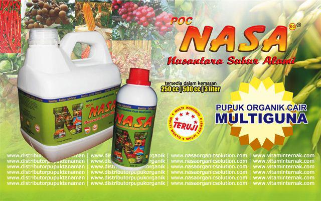 Pupuk organik multi fungsi NASA