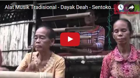 Alat Musik Tradisional: alat musik tradisional - Dayak ...