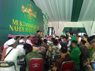KH. Ma'ruf Amin dan KH. Said Aqil Siraj Pimpin NU 5 Tahun ke Depan