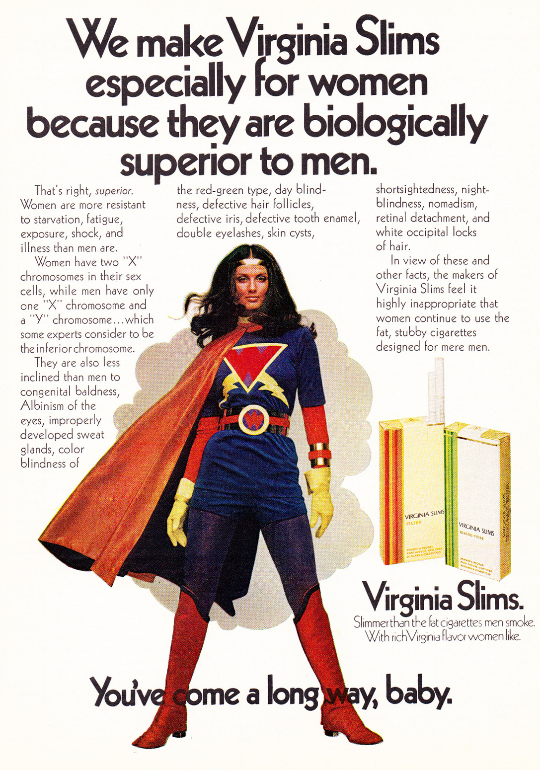 women who smoke virginia slims