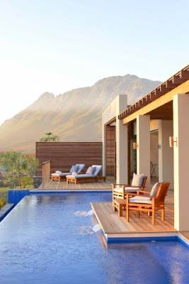 Flair for design delaire graff estate south africa for Plunge pool design uk