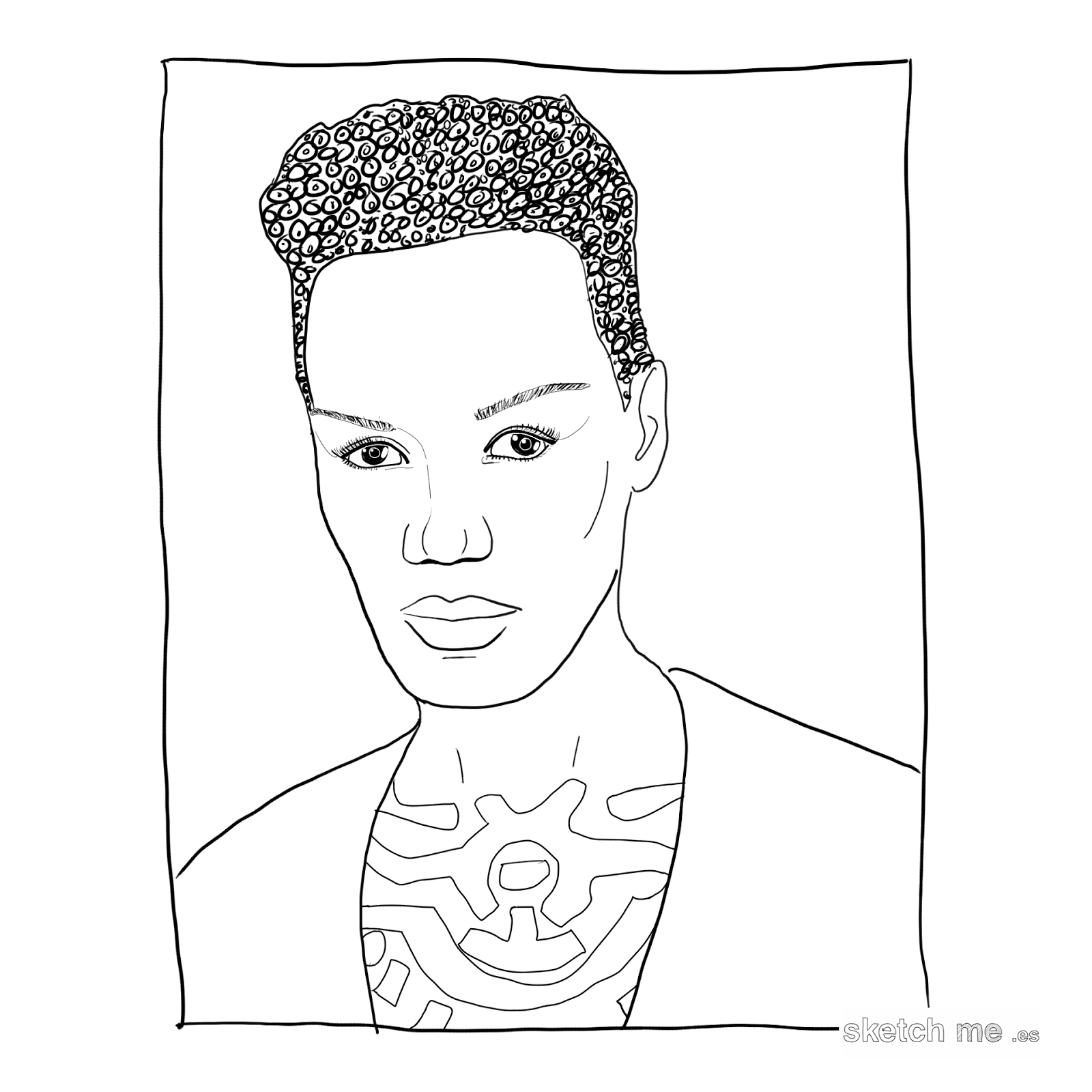 custom-portrait-retrato-personalizado-grace-jones