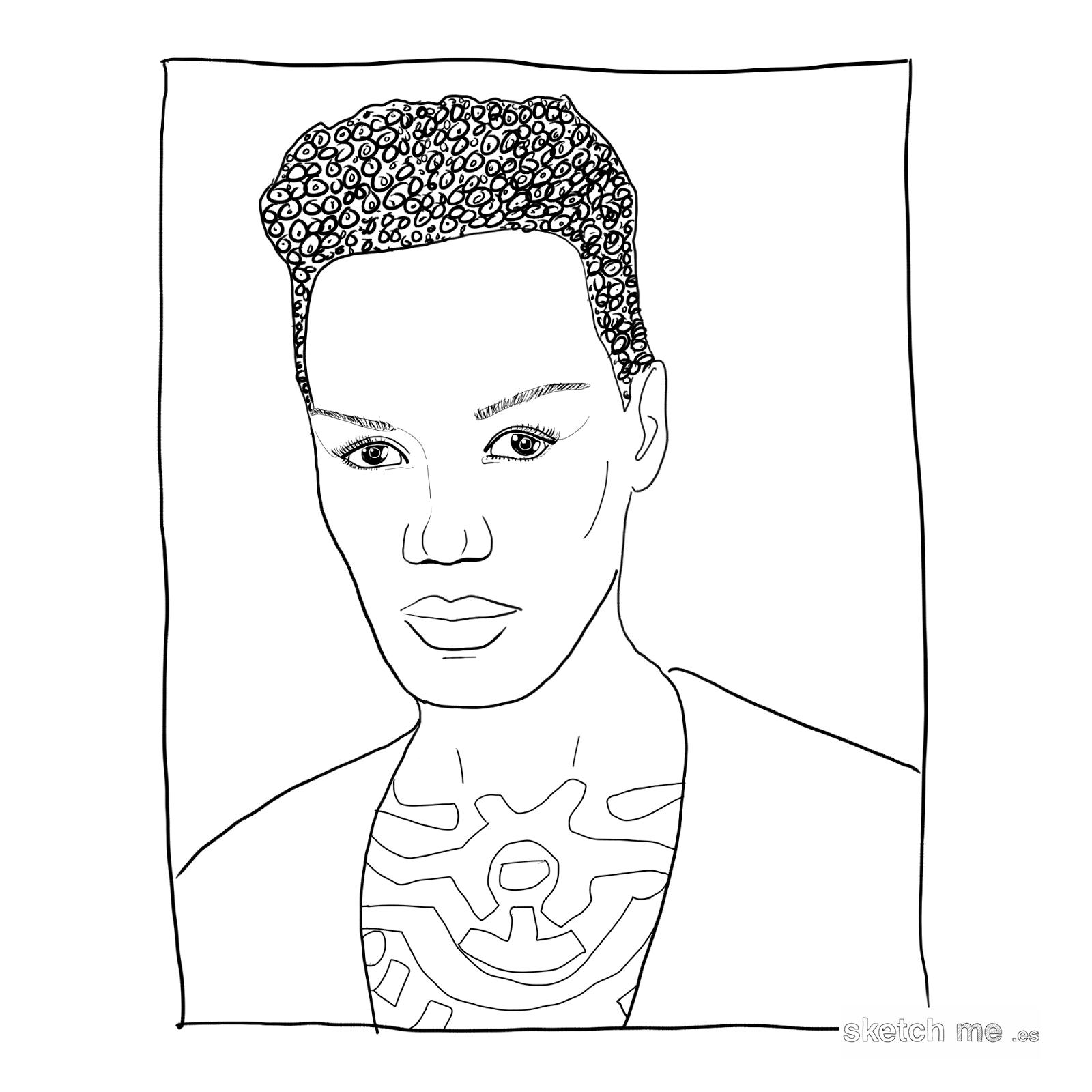 custom-portrait-retrato-personalizado-grace-jones