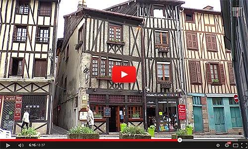 Ville rouge, Quartier de la boucherie, Vous avez dit Limoges (87) ?