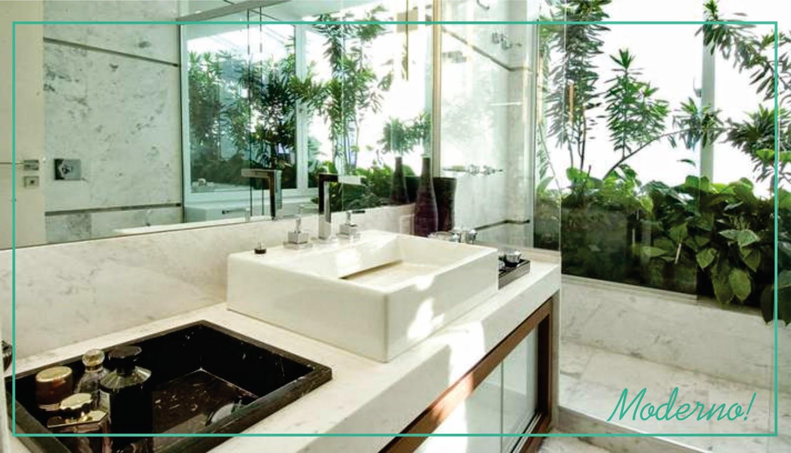 que você pode colocar no jardim de inverno do seu banheiro #3D8E77 1600 917