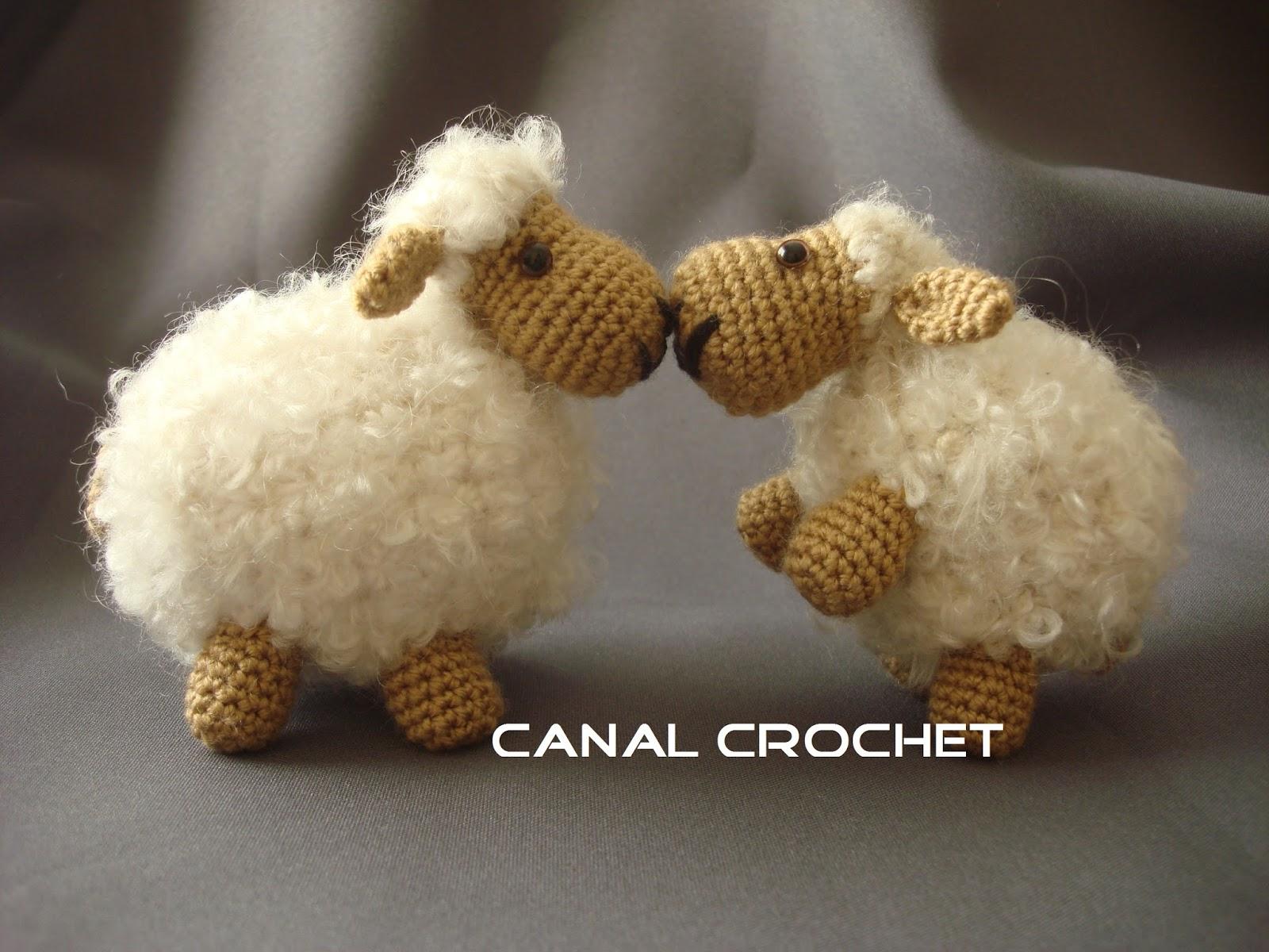 Osito Amigurumi Tutorial Canal Crochet : CANAL CROCHET: Oveja amigurumi patron libre: