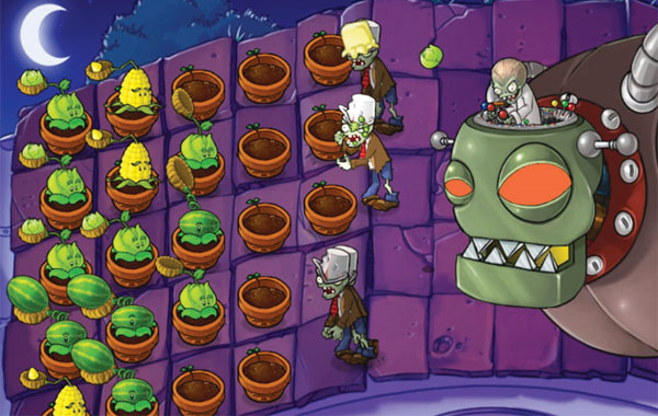 Plants c mon download this game for free portable plants vs zombies
