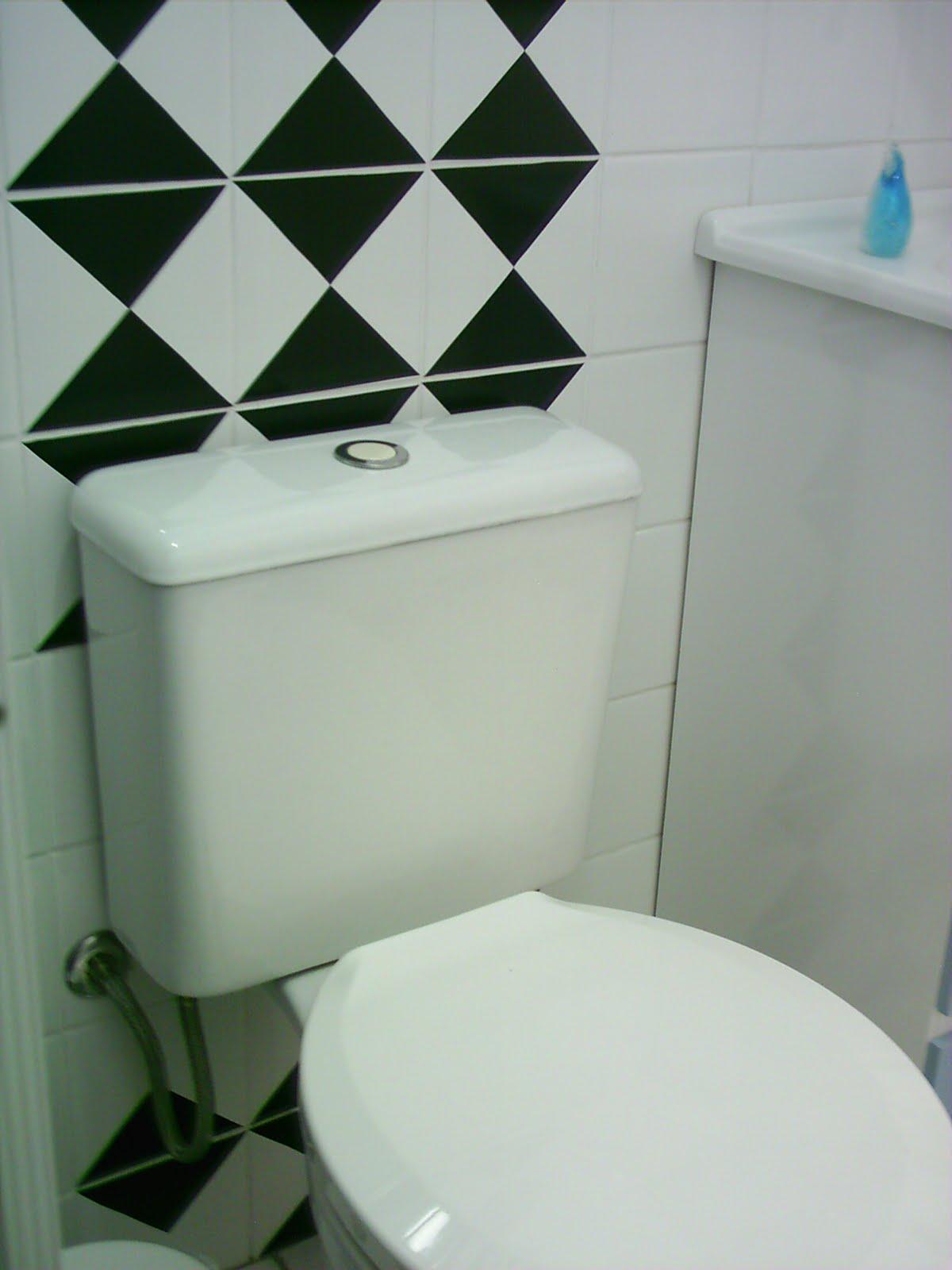 ENTRE E SINTA SE EM CASA: Decorando o banheiro! #182718 1200x1600 Azulejo Para Banheiro Decorado