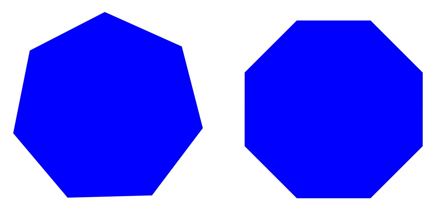 Pentagon heksagon