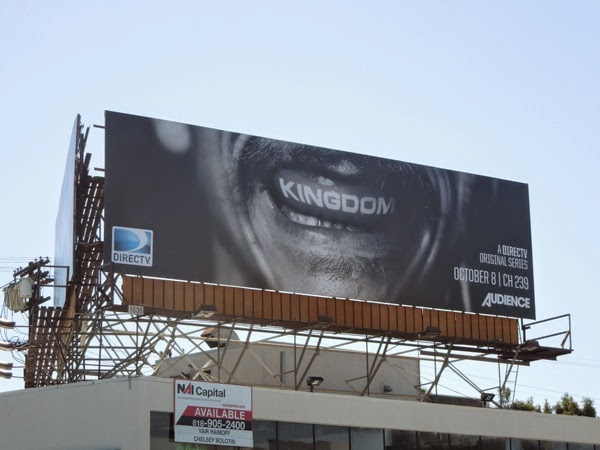 Kingdom series premiere billboard