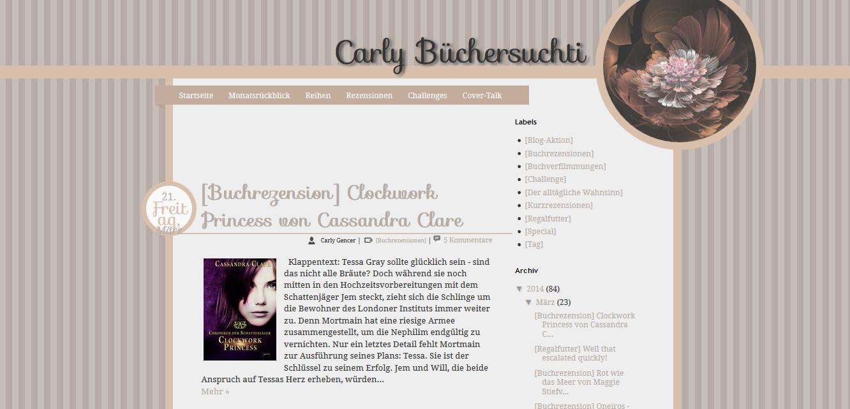 http://carlysbuchsucht.blogspot.de/