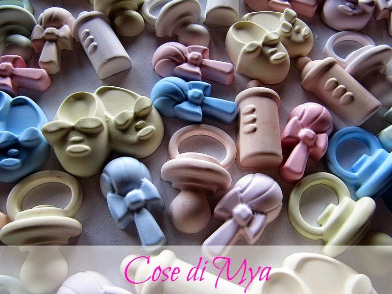 miniature di gesso