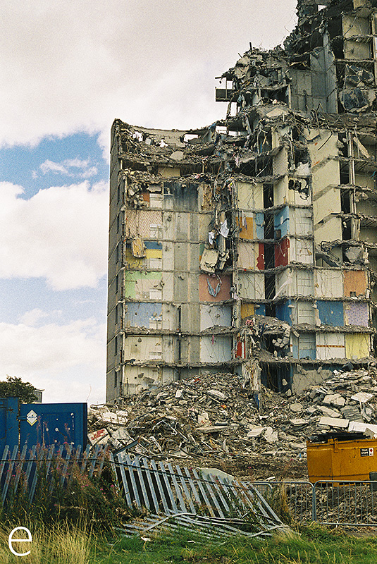 Govanhill Demolition, Glasgow
