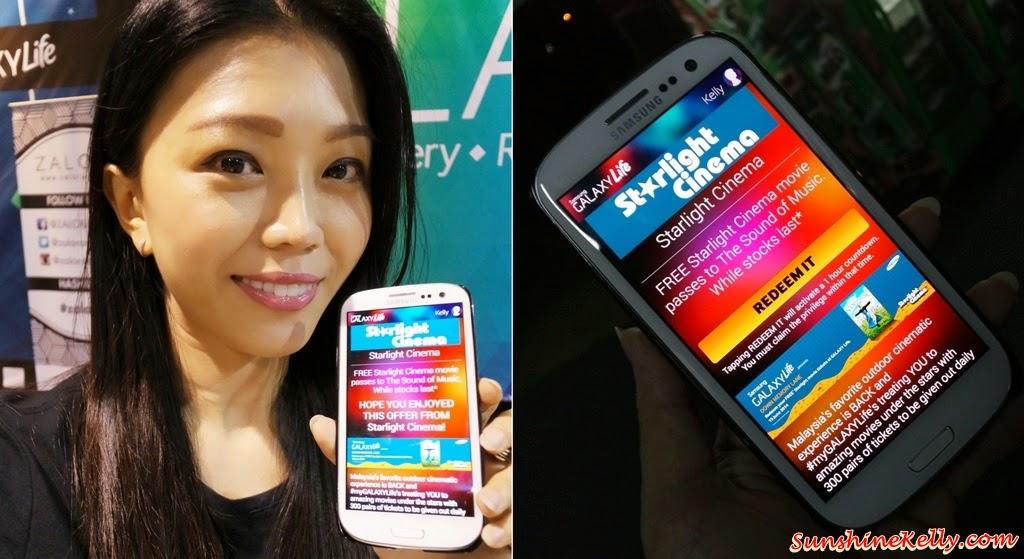 Starlight Cinema, Samsung Galaxy Life App, galaxy life app