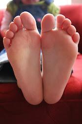 His Feet