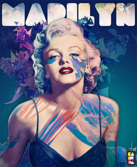 inspiring Graphic Design  marilyn