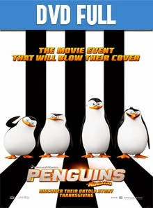 The Penguins of Madagascar DVD Full Español Latino 2014