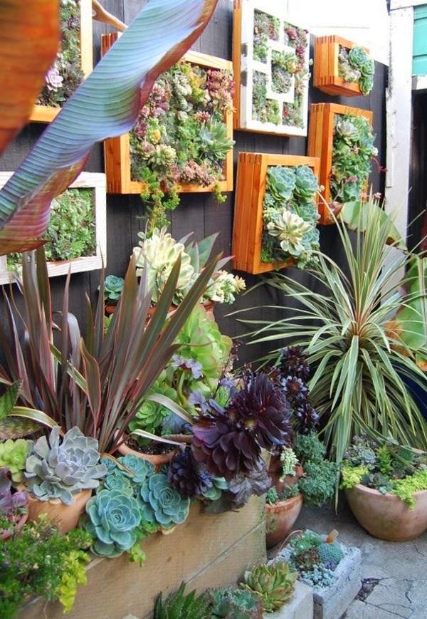 fotos de jardins horizontais : fotos de jardins horizontais:Jardins em Pequenos Espaços – Small Gardens – Gosto Disto!