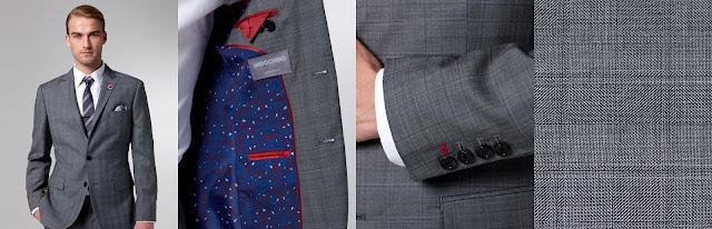 Superhero Grey Checked Suit - 429$