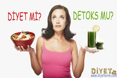 detoks ve diyet