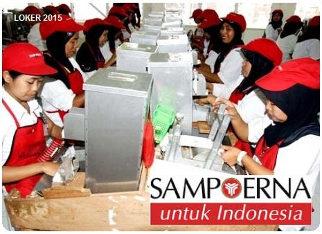 Loker S1, Lowongan S2, info kerja Sampoerna, Karir Terbaru 2015