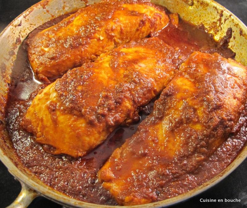 Poisson nord africain la sauce piquante chreime le for Allez cuisine translation