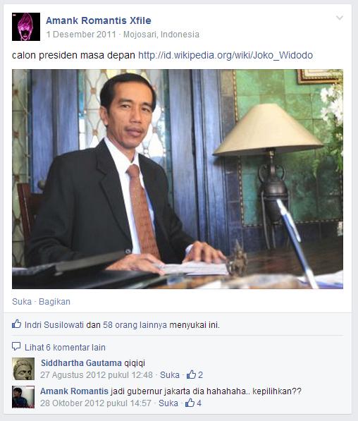 Status Indonesia: TERBONGKARNYA RENCANA PKI JADIKAN JOKOWI
