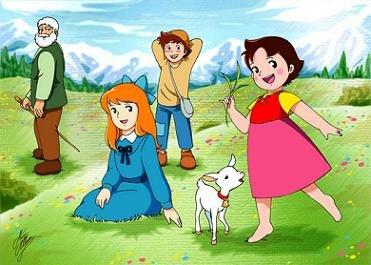 Heidi y sus amigos