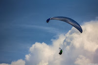 Paragliding Over the Sky